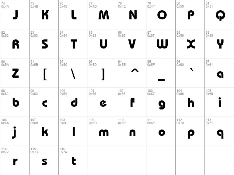 uvn bai sau font