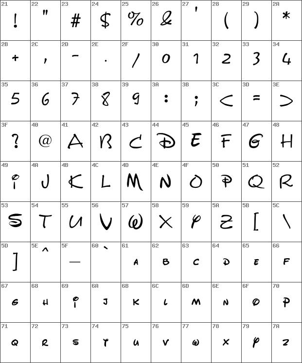 Download free Walt Disney Script Regular font   dafontfree net