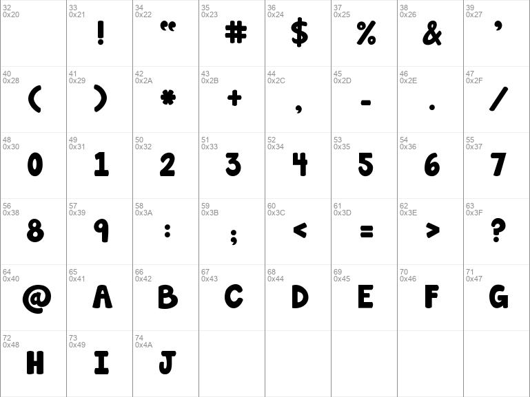Download Free Janda Manatee Solid Regular Font Dafontfree Net