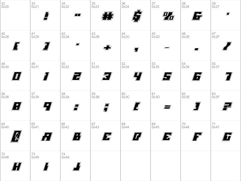 Micronian Academy Italic Italic