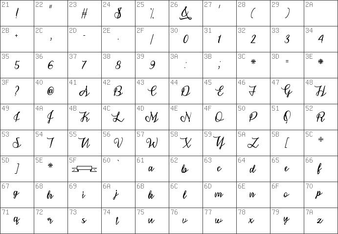 Download Free Snowflake Calligraphy Regular Font Dafontfreenet
