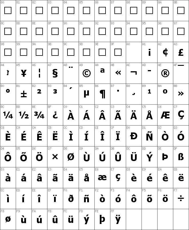Download free Tahoma Bold font   dafontfree.net