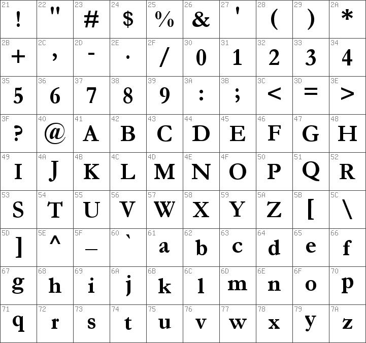 Download free Garamond Bold font | dafontfree net