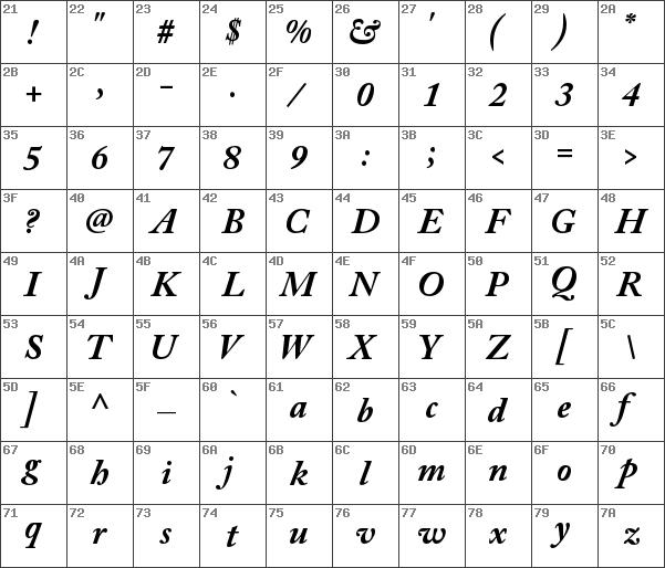 Download free Adobe Caslon Pro Bold Italic font | dafontfree net