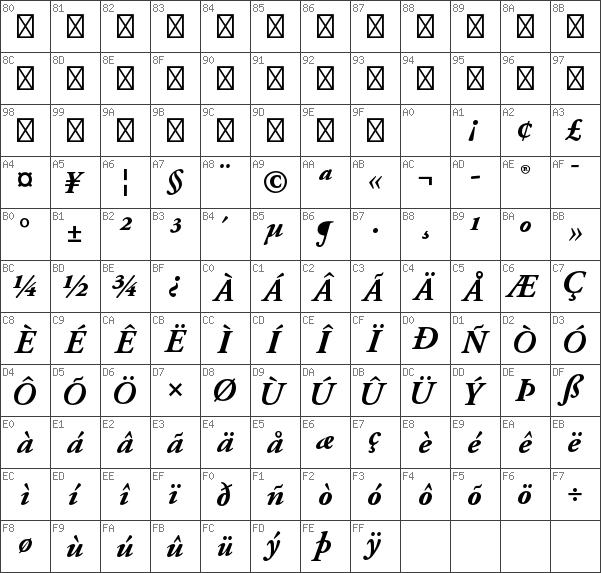 Download free Adobe Garamond Pro Bold Italic font | dafontfree net
