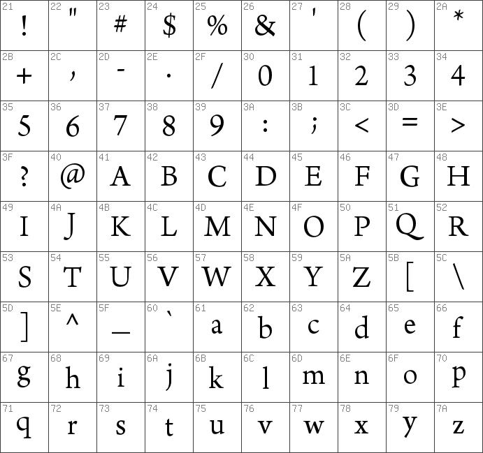 Download free Arno Pro Regular font | dafontfree net