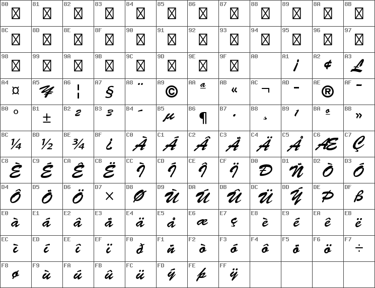Download free Brush Script Std Medium font   dafontfree net