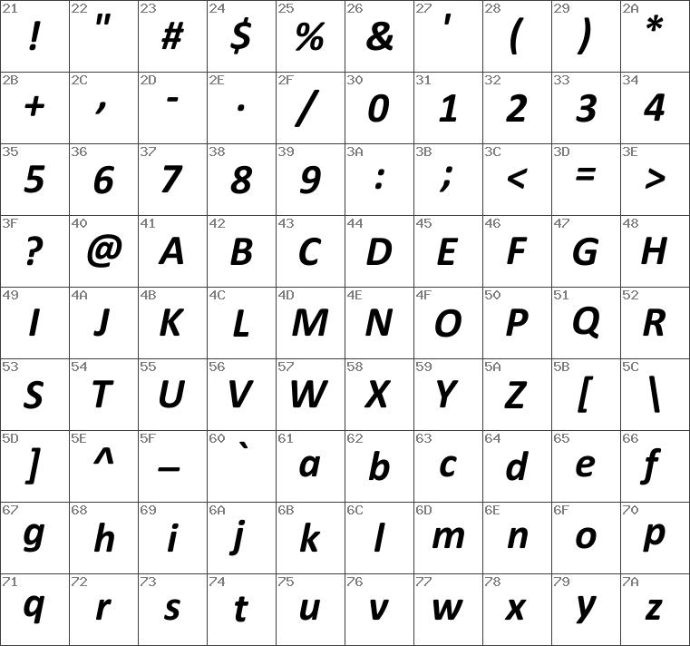 Download free Calibri Bold Italic font | dafontfree net