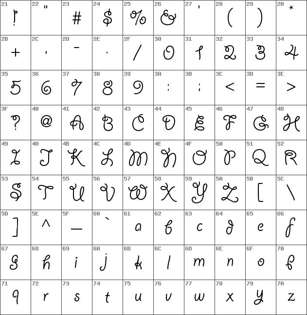 giddyup std font