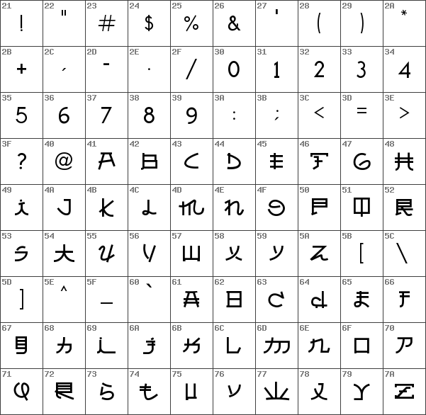 free japanese fonts download