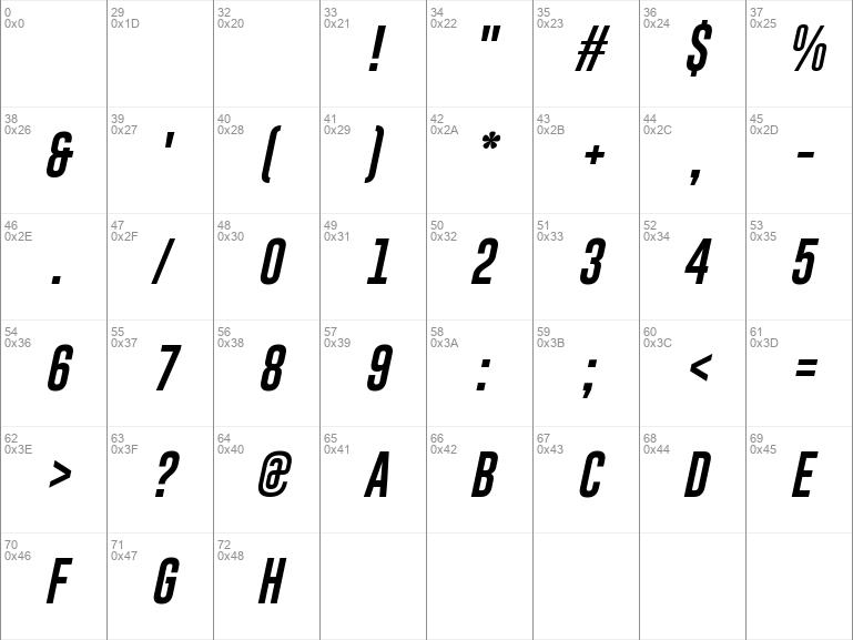 Gobold Uplow Italic