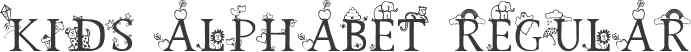 Kids Alphabet Regular