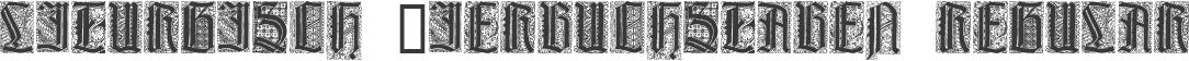 Liturgisch Zierbuchstaben Regular