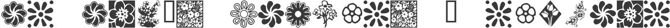 KR Kat's Flowers 2 Regular