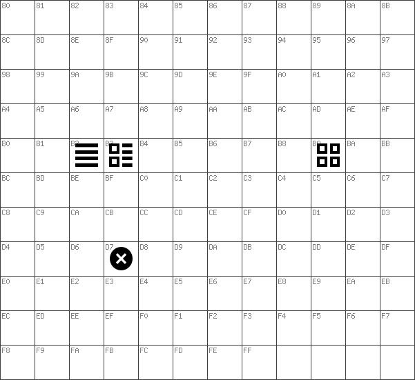 Download Free Web Symbols Regular Font Dafontfree
