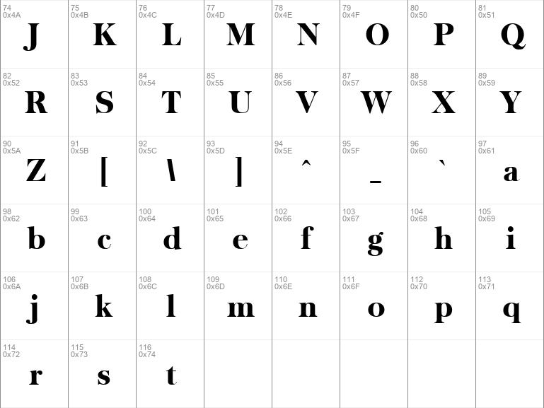 urw baskerville extra bold font free download