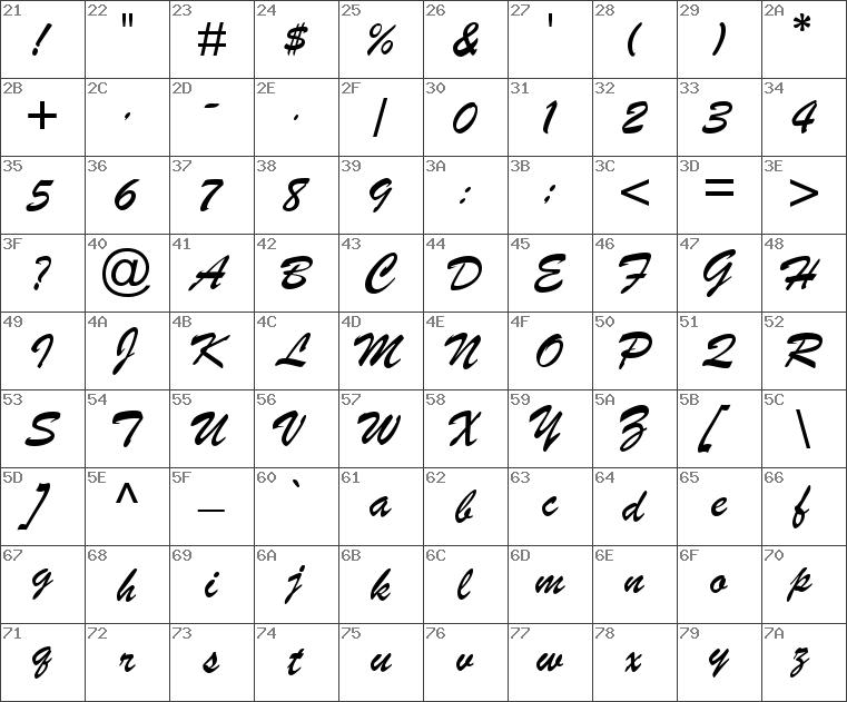 Download free Brush Script MT Italic font | dafontfree net