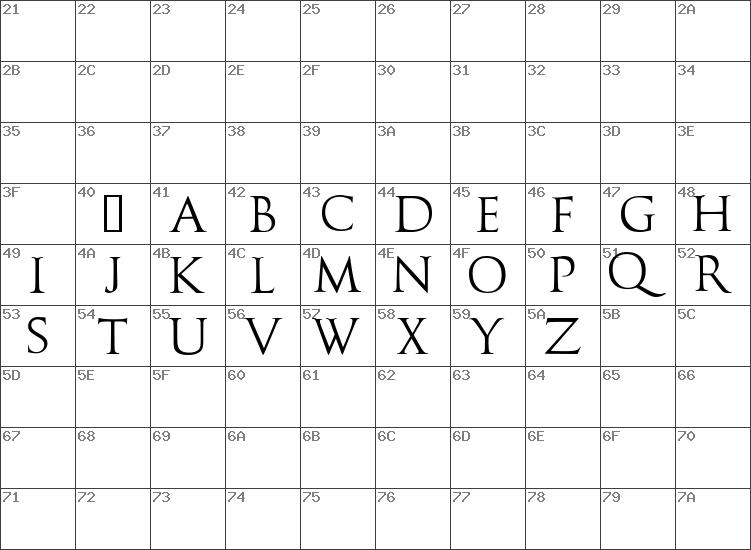 Download Free Caesario Demo Regular Font Dafontfreenet