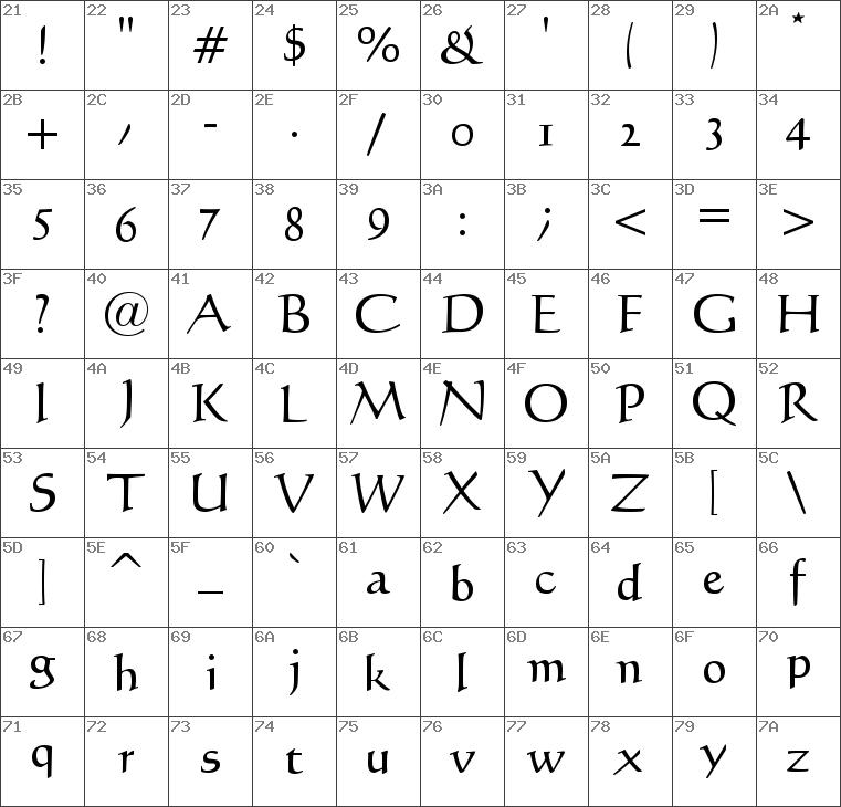 calligraph421 bt