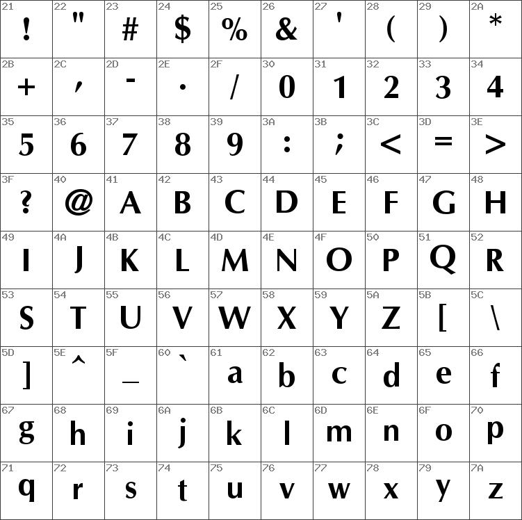 cg omega font