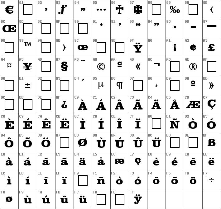 Download free Clarendon-ExtraBold Regular font | dafontfree net
