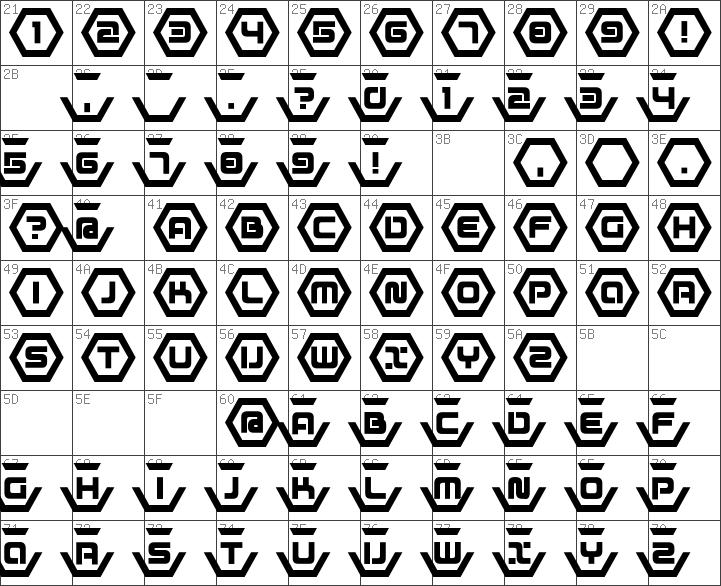 Download free D3 Honeycombism Bold Regular font | dafontfree net