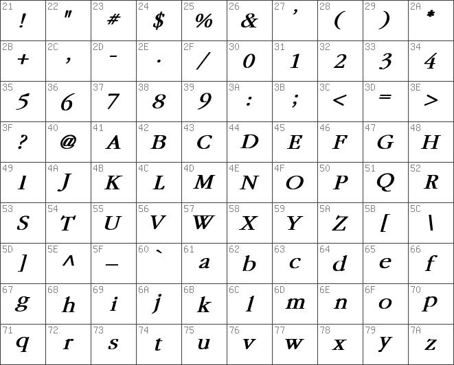 Download free Garamond Bold Italic font | dafontfree net