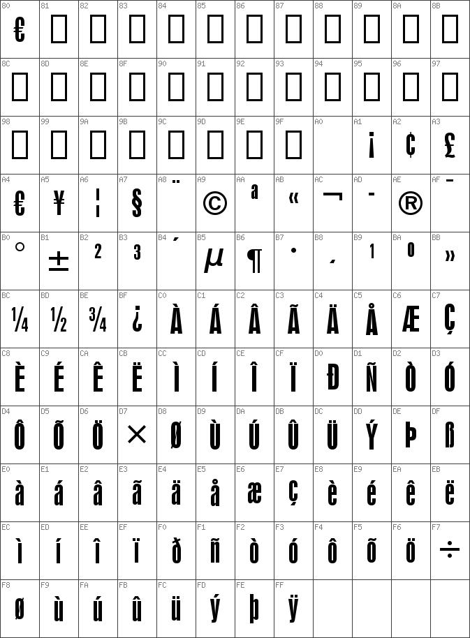 Download free Swiss924 BT Regular font   dafontfree net