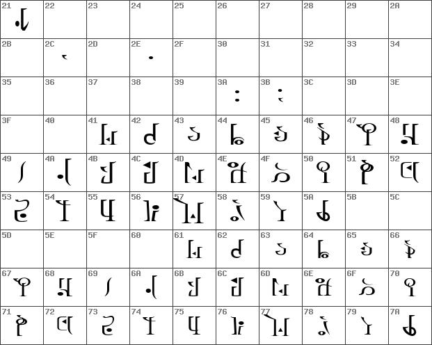 Download Free Tp Hylian Wii Regular Regular Font Dafontfree Net