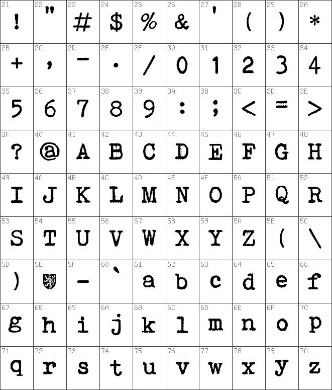 Download free remagg_cz Regular font | dafontfree net