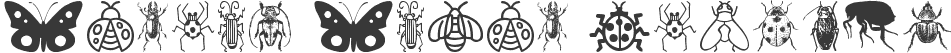 Insect Icons Regular