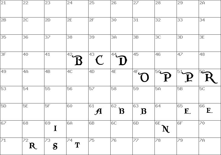 Download free Pieces of Eight Alt Regular font ...