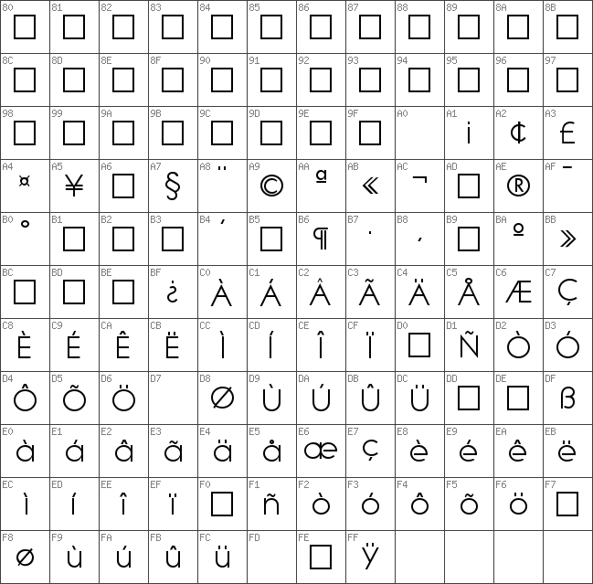 Download free Beatnik SF Regular font | dafontfree net