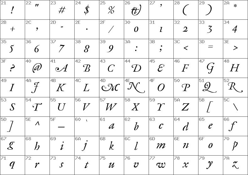 Download free Antique Ancienne CE Roman Italic font