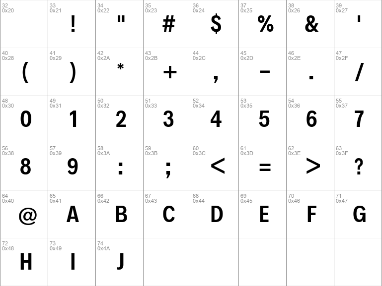 Decalotype SemiBold