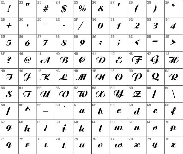 Aristocrat free font download.