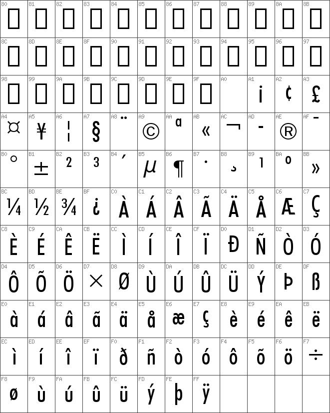 Download free Futura Medium font | dafontfree net