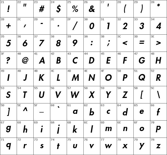 Download Futura Std Heavy Font, free