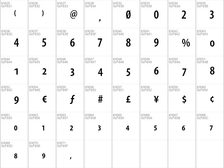 Myriad free font