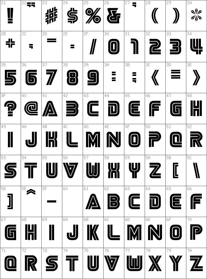 Download free NiseSega Cyrillic Regular font | dafontfree net