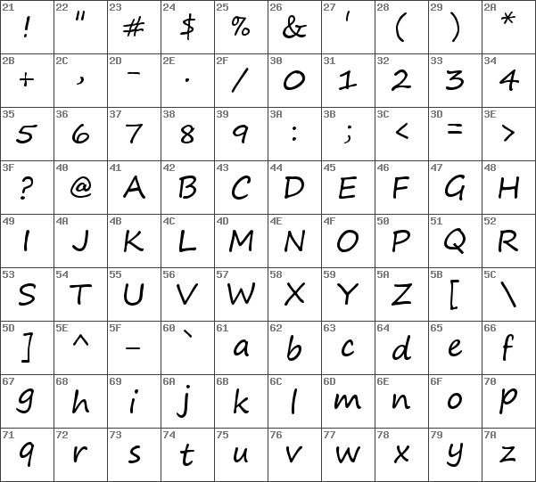 Download Free Segoe Print Regular Font Dafontfree