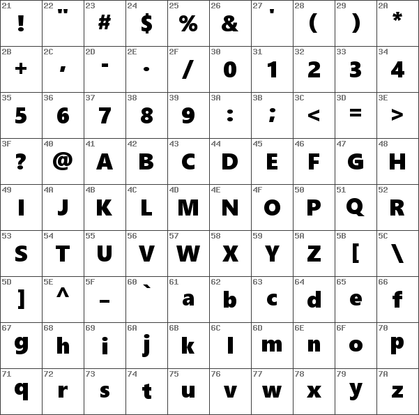 Download free Segoe UI Black Regular font | dafontfree net