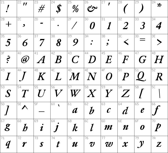 Download free Garamond Bold Italic font   dafontfree net