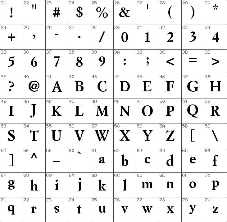 Download free Simoncini Garamond Std Bold font | dafontfree net