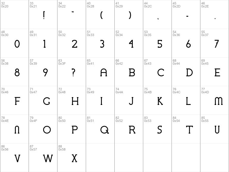 Chremsel Serif Bold Regular
