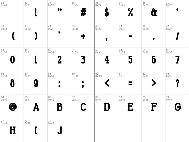 Gabriel Serif Condensed Bold