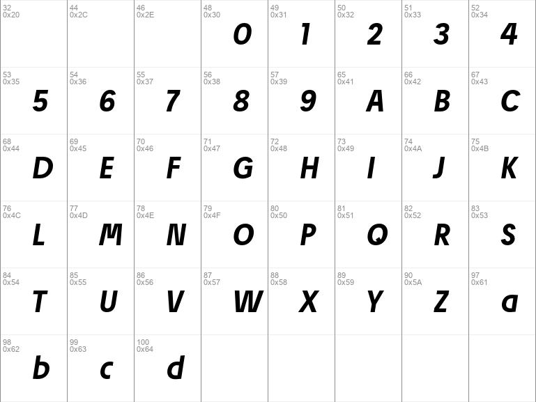 Josef Pro Bold Italic