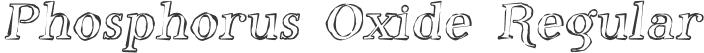 Phosphorus Oxide Regular