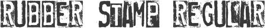 RUBBER STAMP Regular