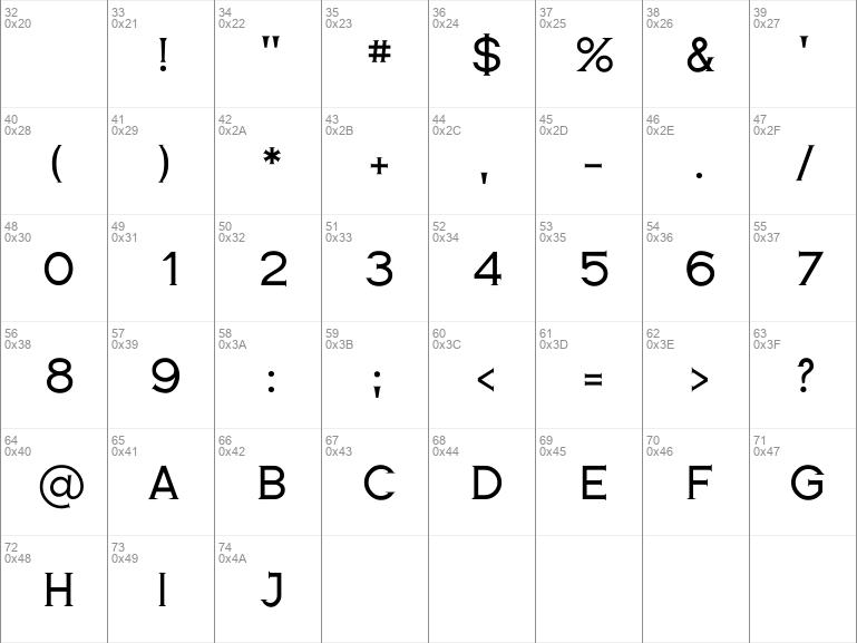 Romanesque Serif Regular